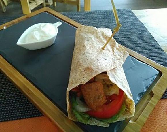 Rollito No pollo (harina de espelta integral)
